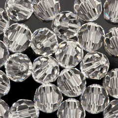 Swarovski 12mm 5000 Round Bead Crystal Clear (001)