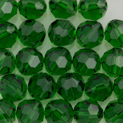 Swarovski Crystal 10mm 5000 Round Bead Dark Moss Green (260)