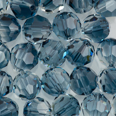 Swarovski 8mm 5000 Round Bead Crystal Montana Blend (725)