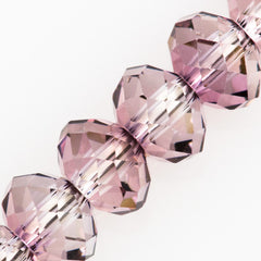 Swarovski Crystal 12x8mm 5040 Rondelle Bead Crystal Antique Pink (001 ANTP)