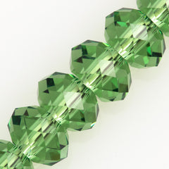 Swarovski Crystal 6x4mm 5040 Rondelle Bead Erinite (360)