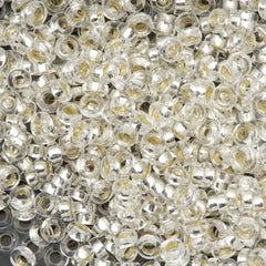 Miyuki 2.2mm Spacer Beads Silver Lined Crystal 7g Tube (1)