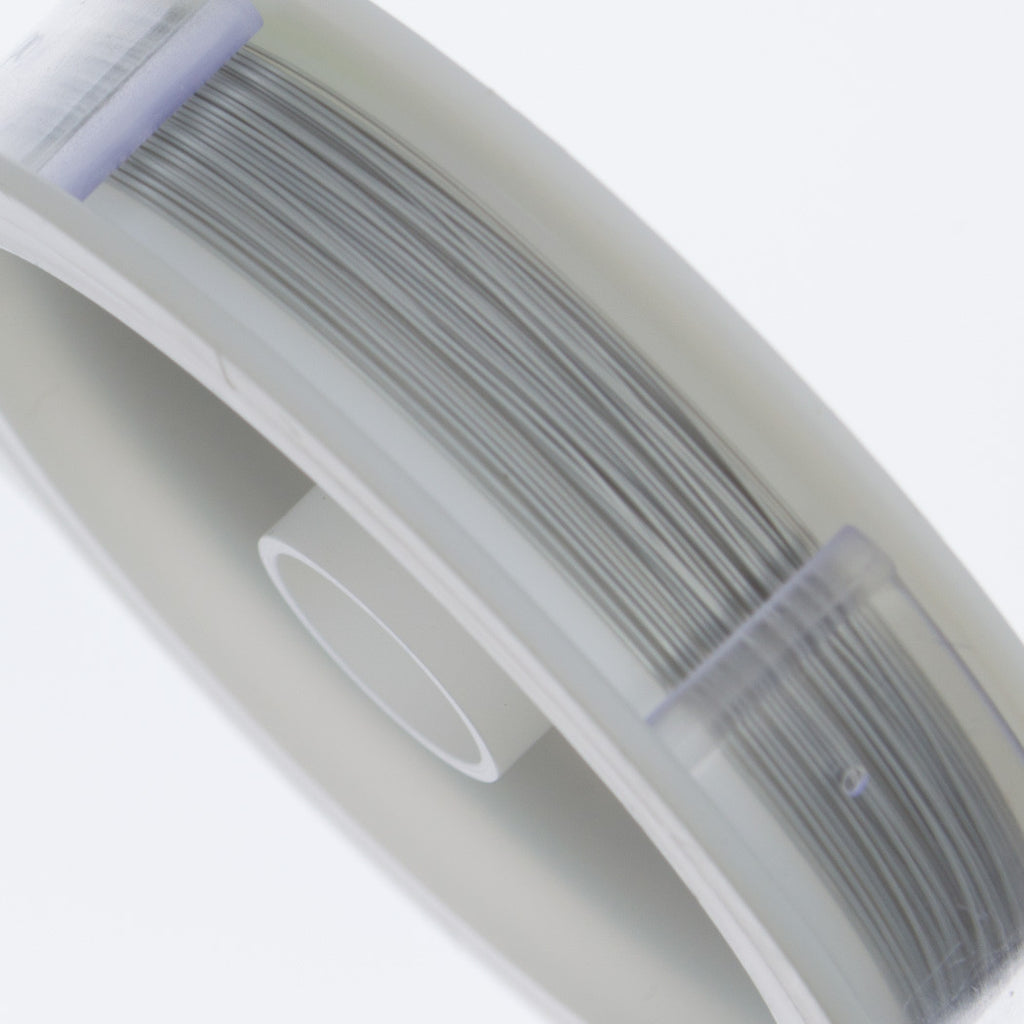 Beadalon 7 Strand Satin Silver .3mm Beading Wire 30ft-side