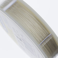 Beadalon 19 Strand Silver .3mm Beading Wire 30ft