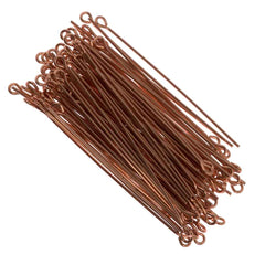 Eyepin 2 inch Copper 20ga 100pcs