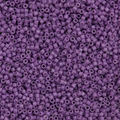25g Miyuki Delica Seed Bead 11/0 Duracoat Dyed Opaque Dark Orchid DB2139