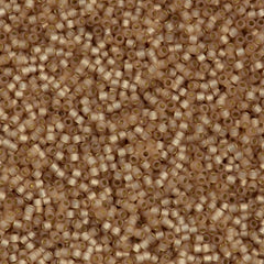 25g Miyuki Delica Seed Bead 11/0 Duracoat Dyed Semi-Matte S/L Mica DB2177