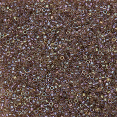 Miyuki Delica seed bead 11/0 Fancy Inside Dyed Rose Taupe 5g DB2395