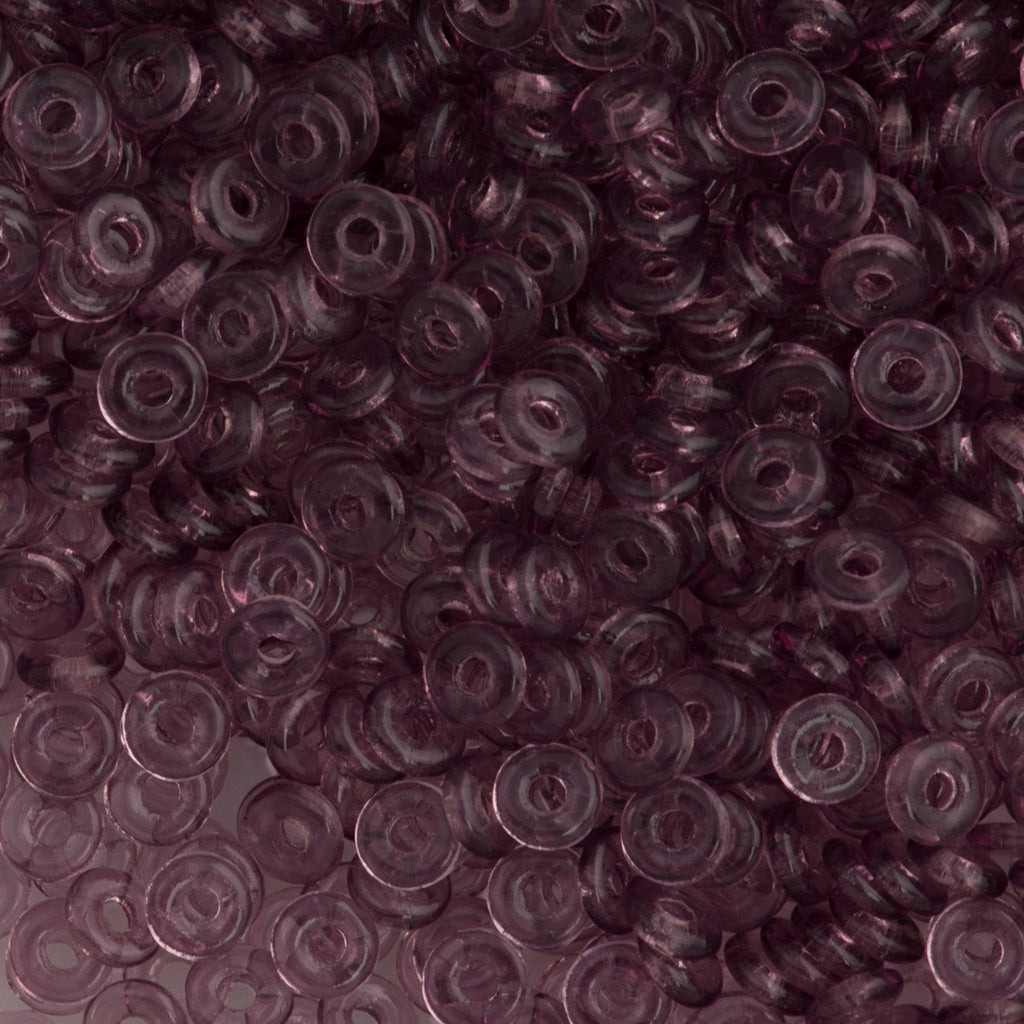 Czech O Beads Amethyst 7.9g Tube (20060)