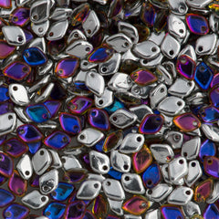 Czech Dragon Scale Beads Crystal Volcano 15g (00030VOL)