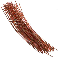 Headpin 2 inch Copper Plated 24ga 144pcs