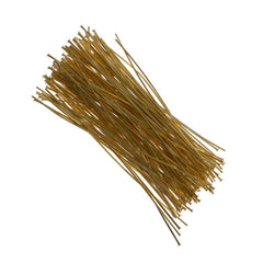 Headpin 2 inch Gold Plated 24ga 144pcs