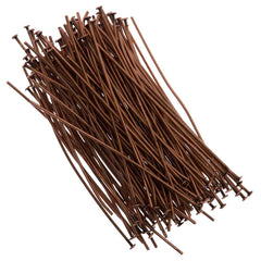 Headpin 2 inch Antique Copper Plated 21ga 144pcs