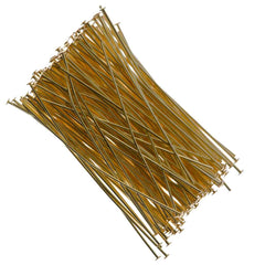 Headpin 2 inch Gold Plated 21ga 144pcs