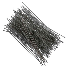 Headpin 2 inch Nickel Plated 21ga 144pcs