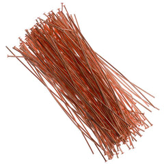 Headpin 3 inch Copper Plated 21ga 144pcs