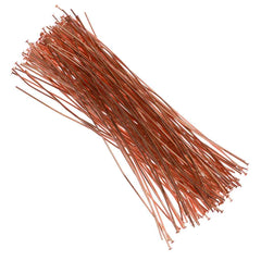 Headpin 4 inch Copper Plated 21ga 144pcs