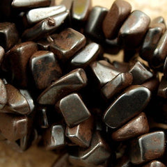 Hematite Chip 5-10mm Bead 34-inch Strand