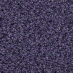 Miyuki Round Seed Bead 15/0 Inside Color Lined Royal Purple 10g (223)