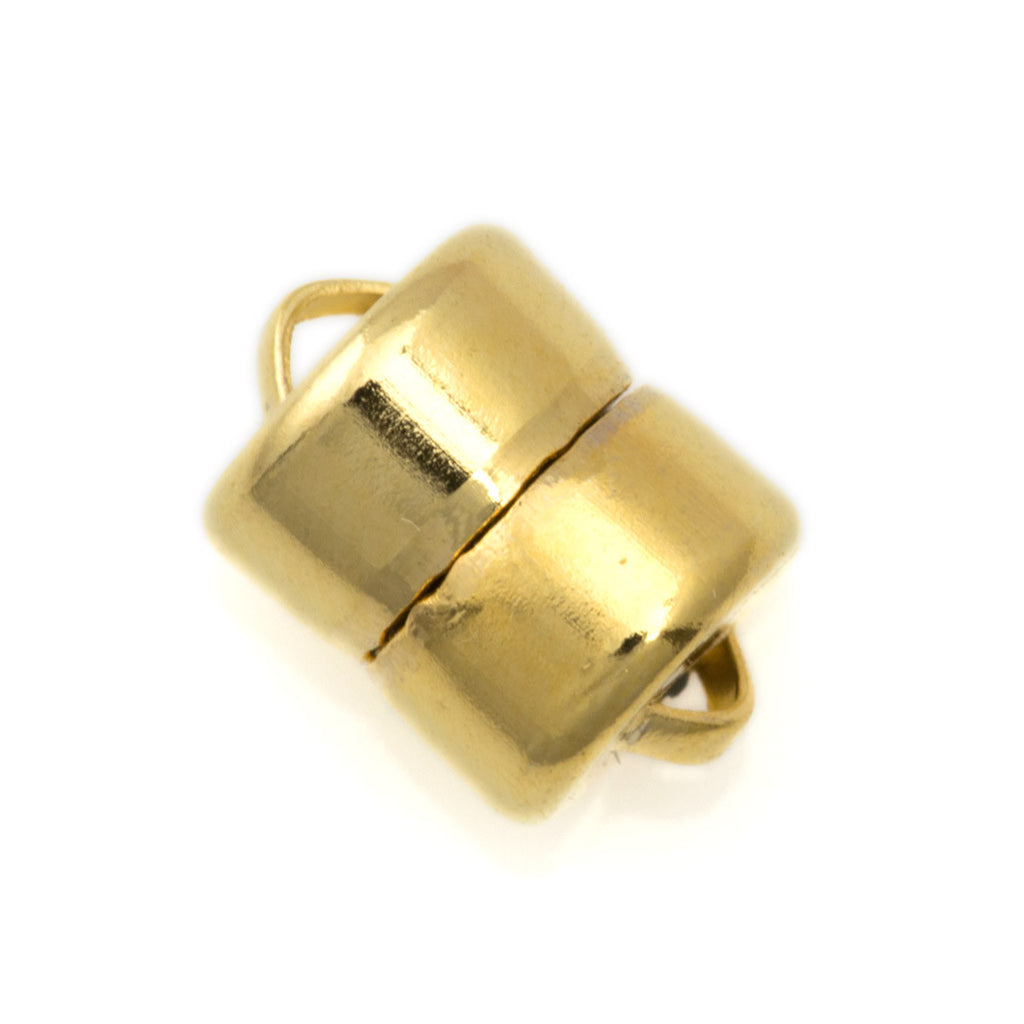 Mag-Lok 11x8mm Gold Plated Magnetic Clasp