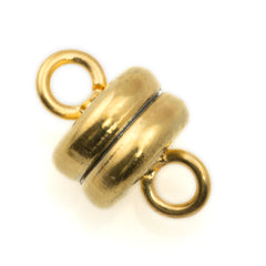 9x6mm Gold Plated Magnetic Clasp