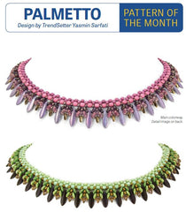Pattern Palmetto Necklace