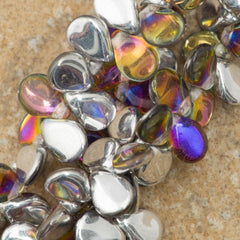 65 Preciosa Pip Crystal Volcano Beads (00030VOL)
