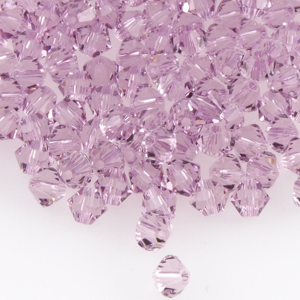 Swarovski Crystal 2.5mm 5328 Bicone Bead Light Amethyst
