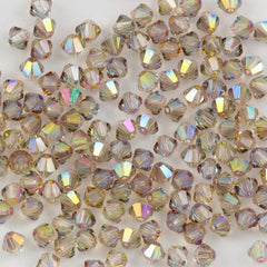 144 Swarovski 3mm 5328 Xilion Bicone Beads Crystal Purple Haze (001 PH)