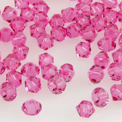 Swarovski Crystal 2.5mm 5328 Bicone Bead Rose