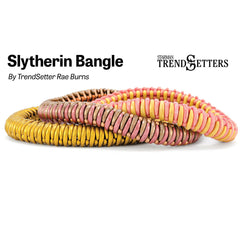 Pattern Slytherin Bangle