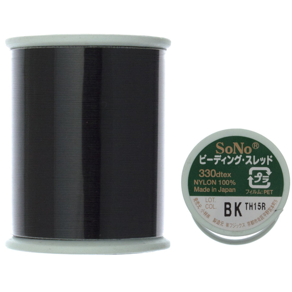 SoNo Black Beading Thread 100 Meter