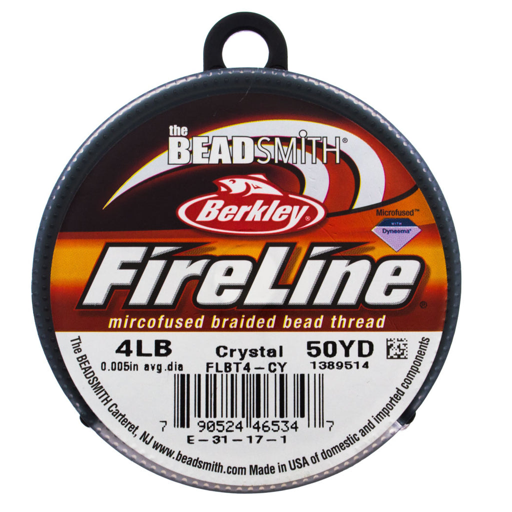 Fireline Crystal 4Lb Beading Thread 50 yard Spool