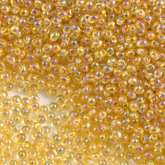 Miyuki Drop Fringe Seed Bead Transparent Light Amber AB (251)