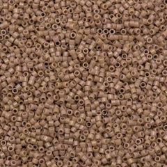 25g Miyuki Delica Seed Bead 11/0 Duracoat Dyed Opaque Beige DB2105
