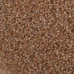 25g Miyuki Delica Seed Bead 11/0 Inside Dyed Color Beige DB69