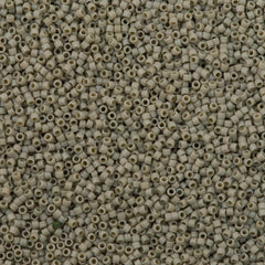 25g Miyuki Delica Seed Bead 11/0 Matte Opaque Glazed Cactus DB2282