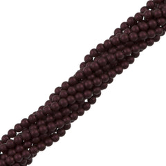 200 Swarovski 5810 2mm Round Elderberry Pearl Beads