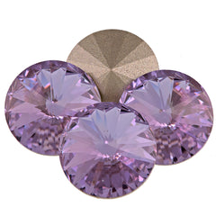 Four Swarovski Crystal 12mm 1122 Rivoli Violet (371)