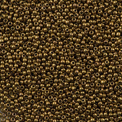 50g Toho Round Seed Bead 11/0 Antique Bronze (223)
