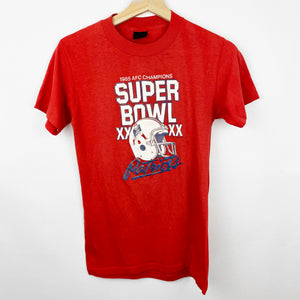 Vintage Youth 80s 1985 New England Patriots Super Bowl Champions Shirt