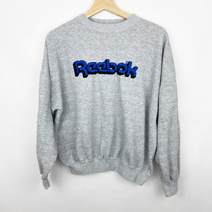 Vintage 90s Reebok Brand Embroidered Spell Out Sweatshirt