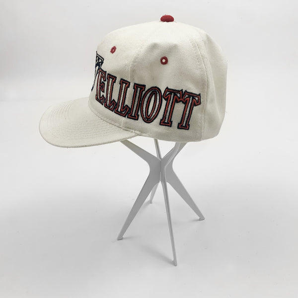 Vintage 1990s Bill Elliott NASCAR #11 Racing Hat - Public Interest CLT