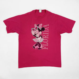 Vintage Disney Minnie Mouse 'Florida' Spell Out Graphic Shirt - Public Interest CLT