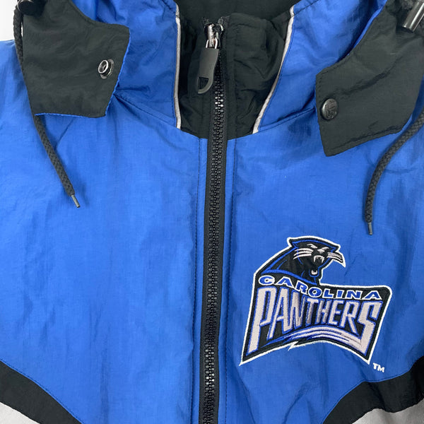 Vintage 1990s Pro Player Carolina Panthers NFL Football Jacket
