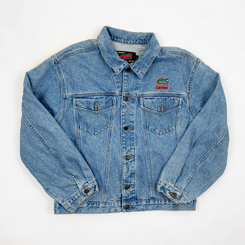 Vintage 1990s Florida Gators Denim Jacket