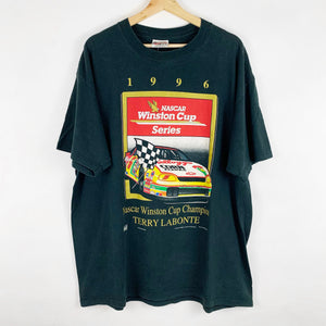 Vintage 1996 Terry Labonte NASCAR Winston Cup Racing Championship Shirt