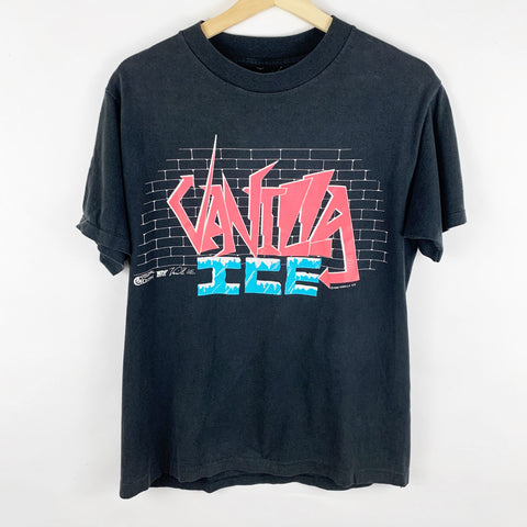 Vintage 1990 Vanilla Ice 'Ice, Ice Baby' Ice to the Extreme Concert Tour 90-91 Graphic Shirt