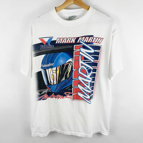 Vintage Mark Martin Vavoline NASCAR Racing Graphic Shirt