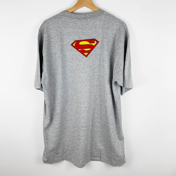 Vintage 90s Deadstock Superman 'Man of Steel' Skiwear Graphic Shirt